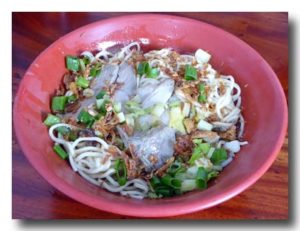 玉里麺 乾麺