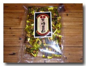 黒糖薑母 黒糖生姜キャンディー