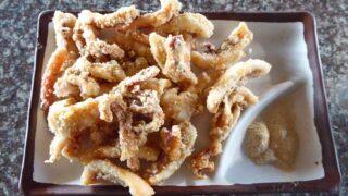 鮮炸小巻酥  イカのカリカリ揚げ、イカフライ